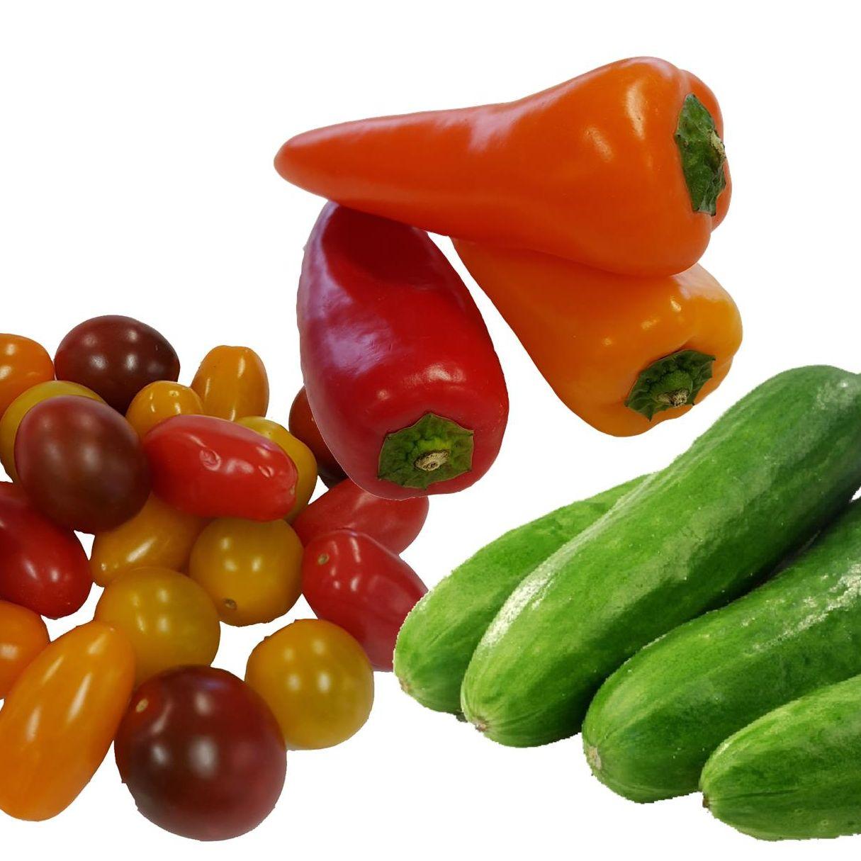 Snackgroentes 250 gram