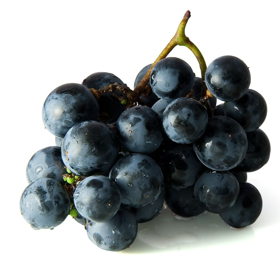 blauwe pitloze druiven 500 gram